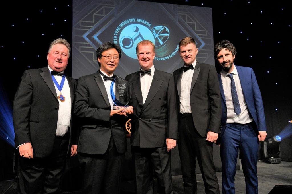 2019 Tyre Industry Awards Yokohama Winner Tyre Manufactureer of the Year HR