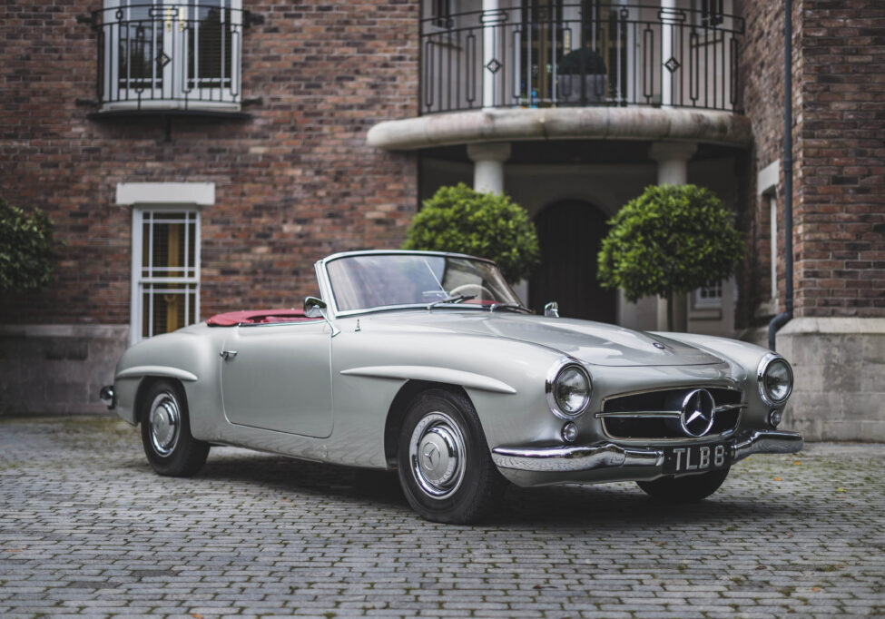 01 1955 Mercedes-Benz 190SL Roadster