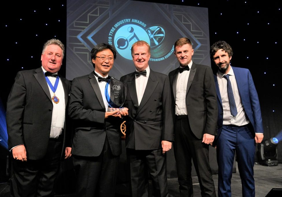 2019 Tyre Industry Awards Yokohama Winner Tyre Manufactureer of the Year HR