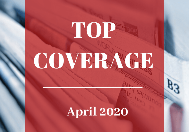 Top Coverage April 2020