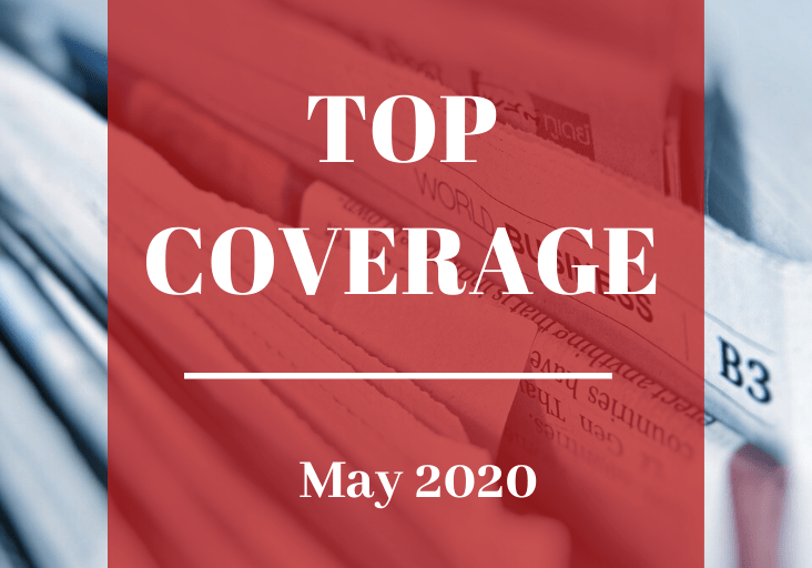 Top Coverage May 2020