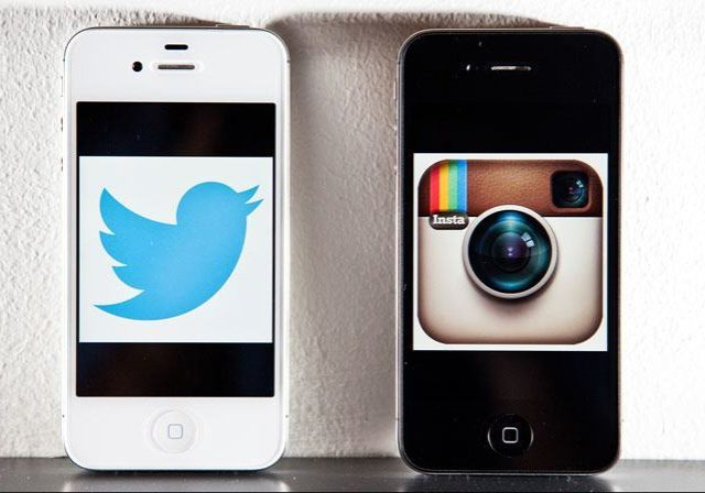 Twitter vs Instagram